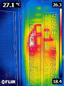 Breaker Panel Thermal Image